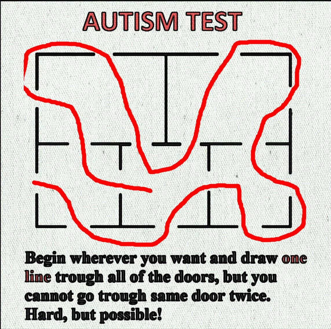 Autism adult test