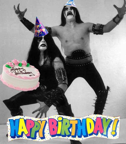 С днём рождения подруге рок поздравления