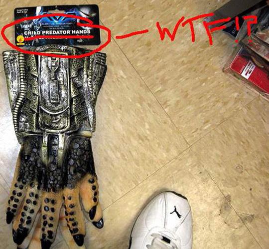 Fail-owned-child-predator-gloves-fail - над 60000 смешни снимки и картинки.