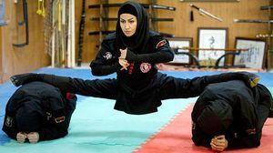 نینجا های زن ایرانی سوژه رسانه های خارجی شدن + عکسها و فیلم