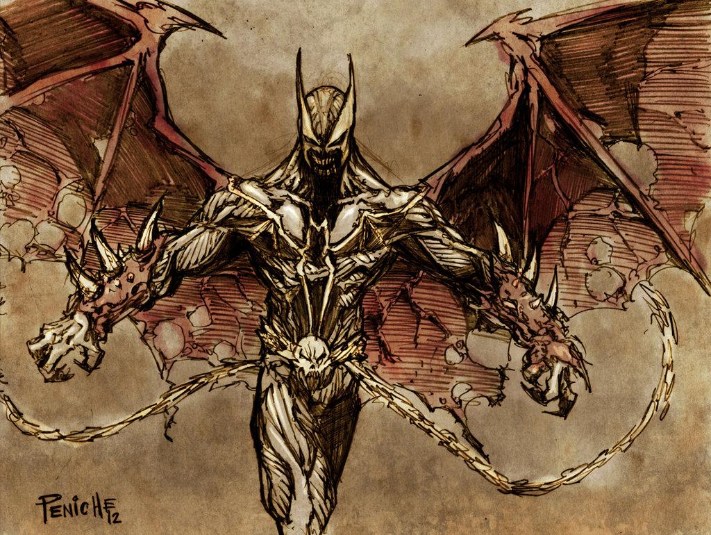 Spawn Batman HOLY