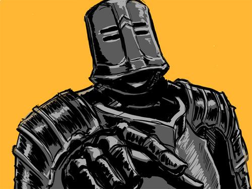 Dark Souls Chosen Undead Black Iron Tarkus Build I Can