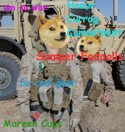 doge enlist such macho very discaplin many hoorah marin crops
