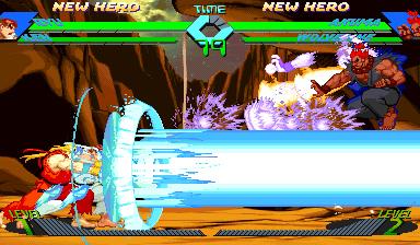 Double Shinku Hadouken From X Men Vs Street Fighter 78848382 Added By Dbblues At Shinku Hadoken