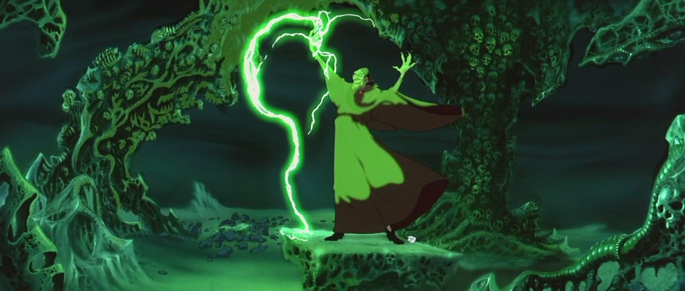 Even Non Disney Movies Like Rasputin S Little Glow Stick