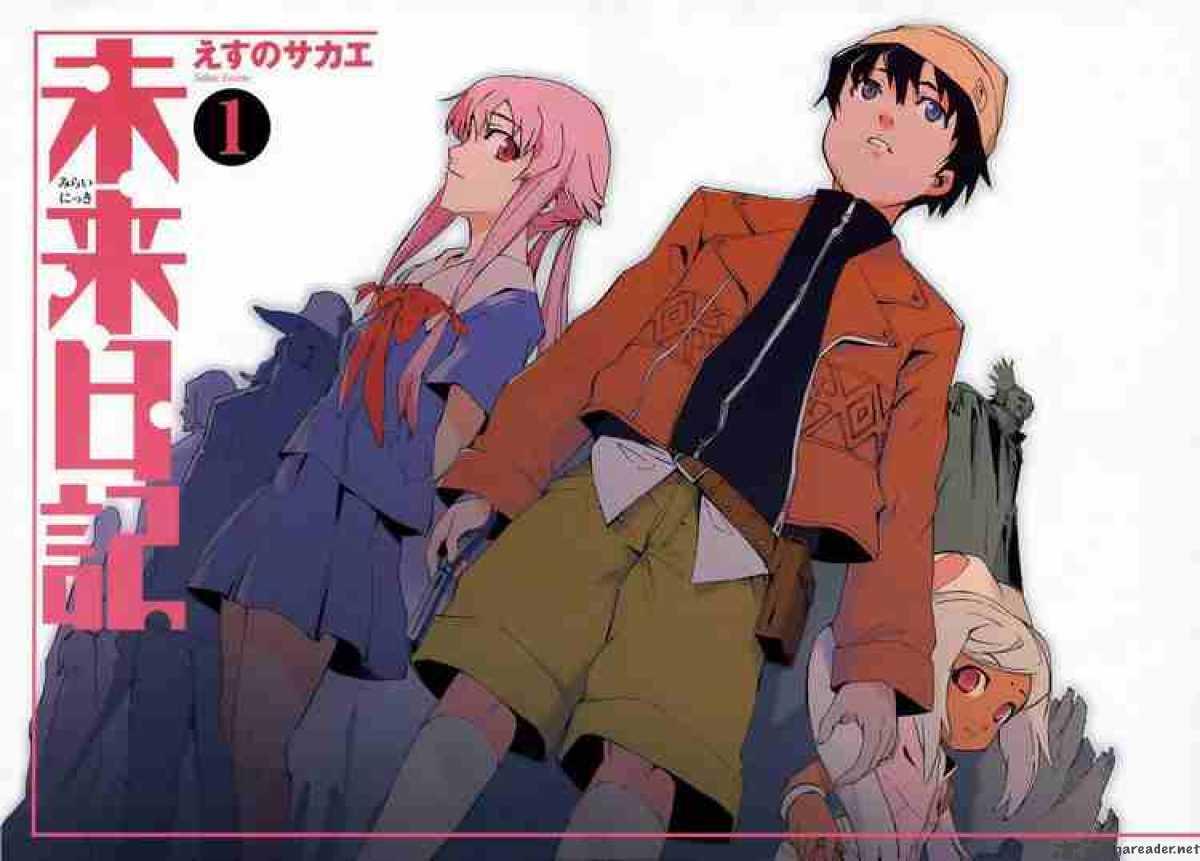 First Anime Watched Me Mirai Nikki