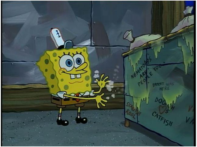 Bad Word In Spongebob
