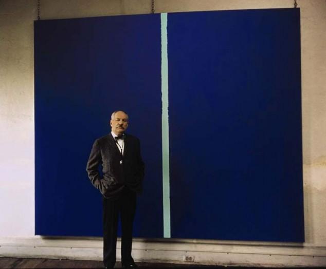 Blue Canvas Modern Art