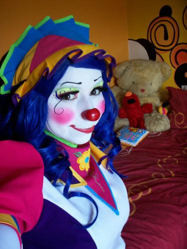 Clown blowjob
