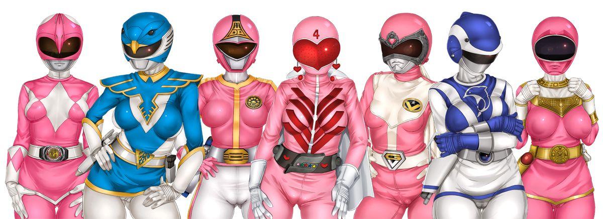 Power Rangers Hentai porno bagnato fighe porno
