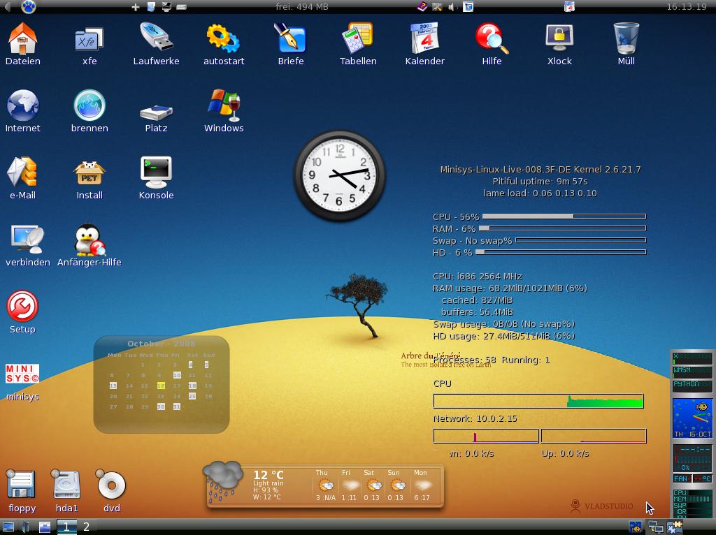 Статьи об графической системе linux