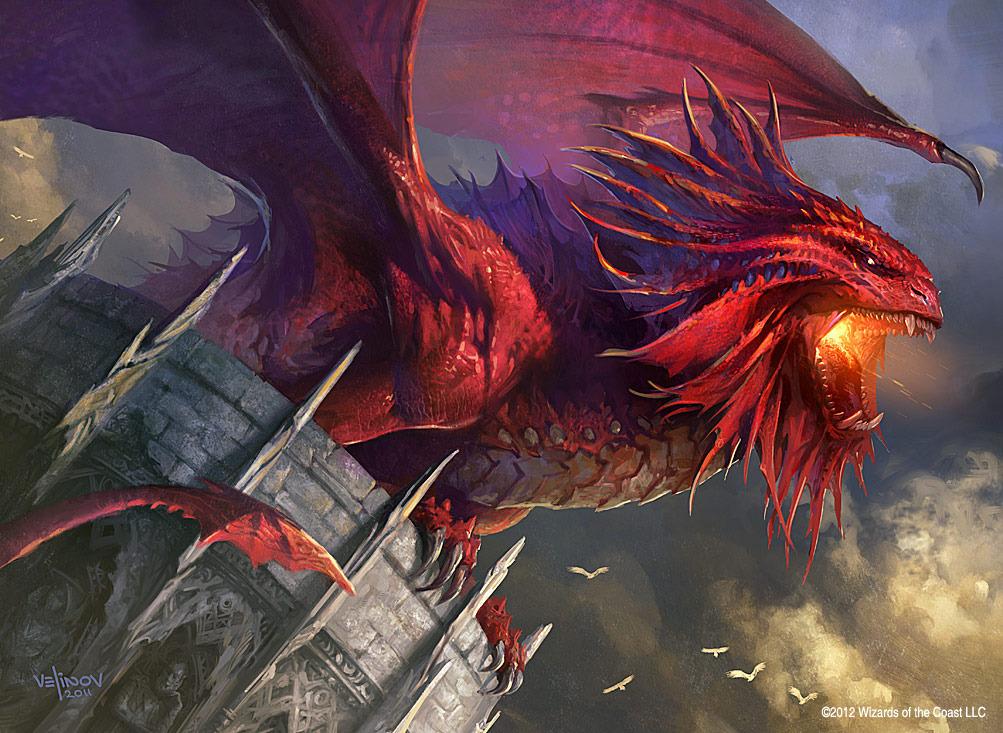 Mtg dragons are bad ass.