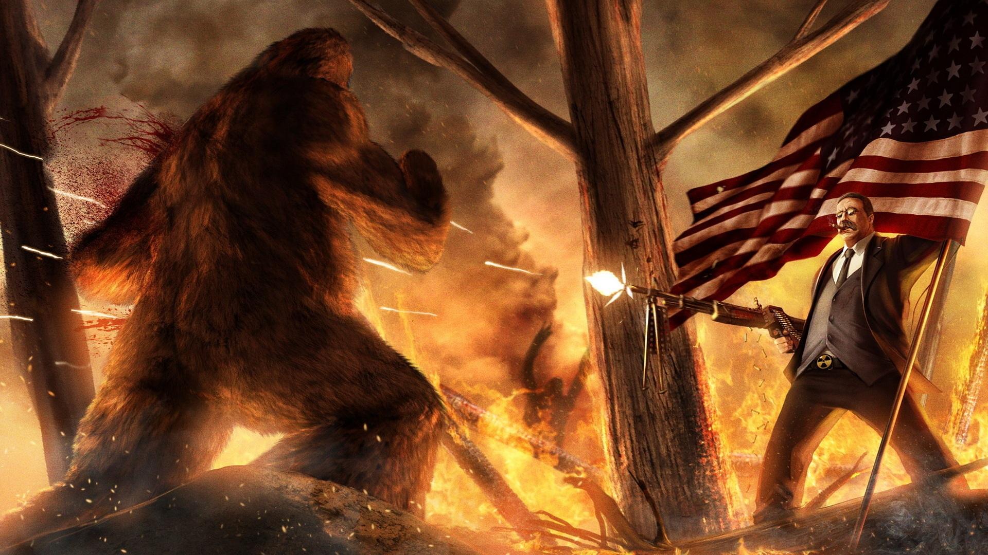 Not a bear  Not a gatling gun  Jssayin - #46617303 added by