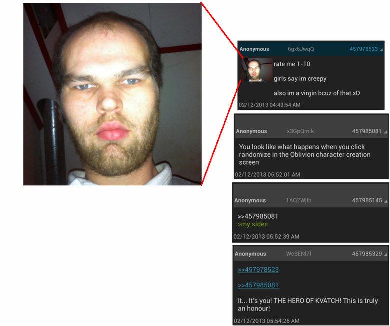 oblivion random face generator strikes again - #117782270 added by