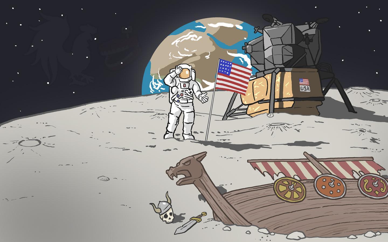 кристаллами человек на луне рисунок ищете прозрачные