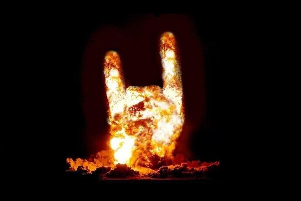 Открытки, хеви метал прикольные картинки