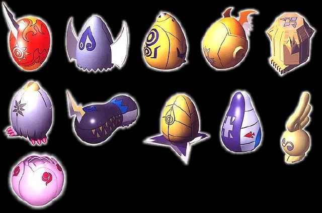 Resultado de imagen para digi armor eggs