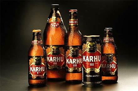 This Is The Beer Wich Makes Bud Light Taste Like Piss Finnish Bear/Karhu