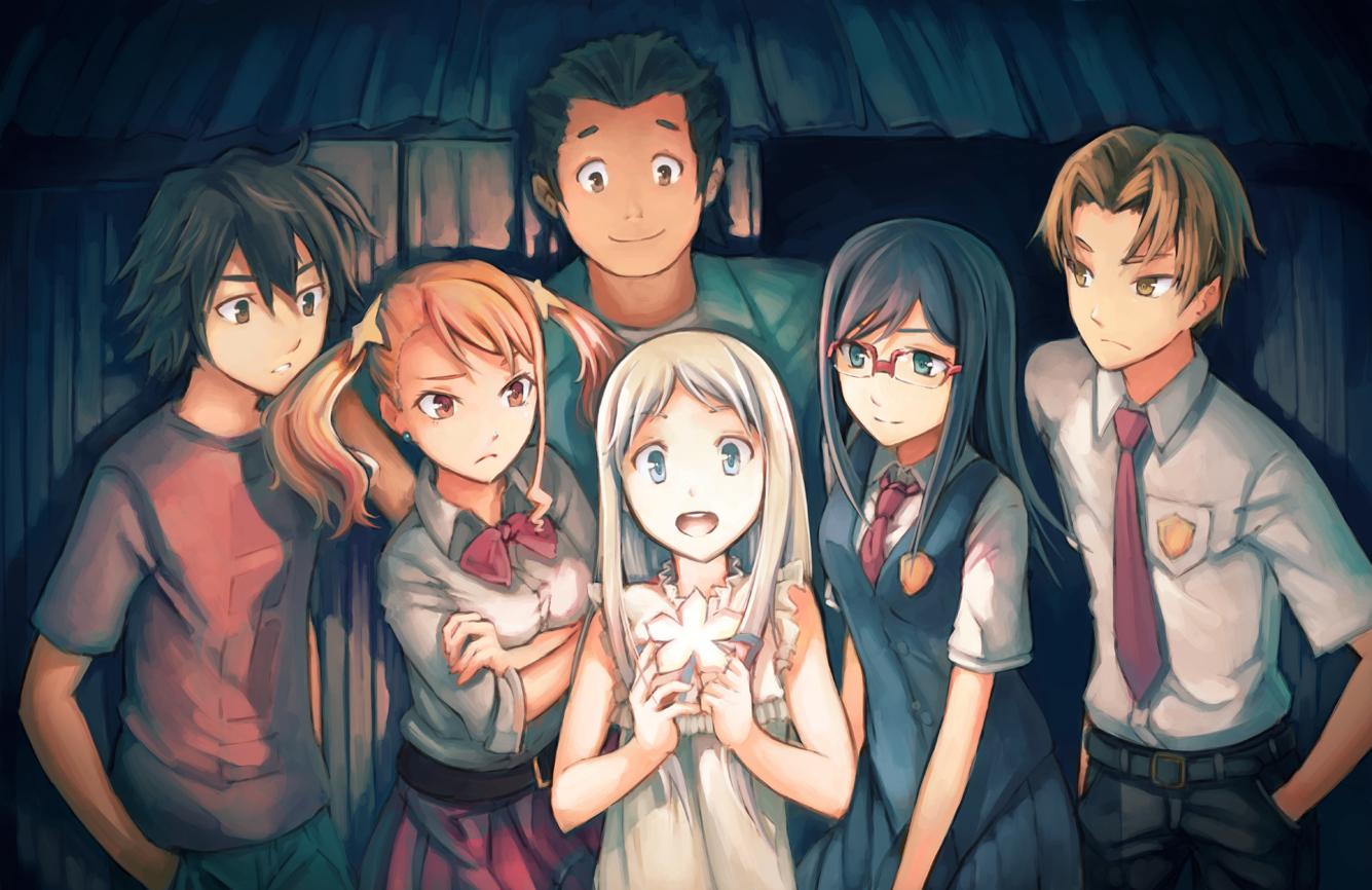 Картинки аниме друзья арт